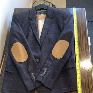 Zara women's plaid blazer